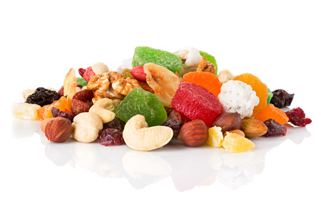 Dried fruits Banque d'images