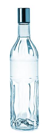 Bottle of vodka photo
