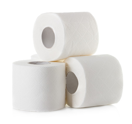 toiletpapier Stockfoto