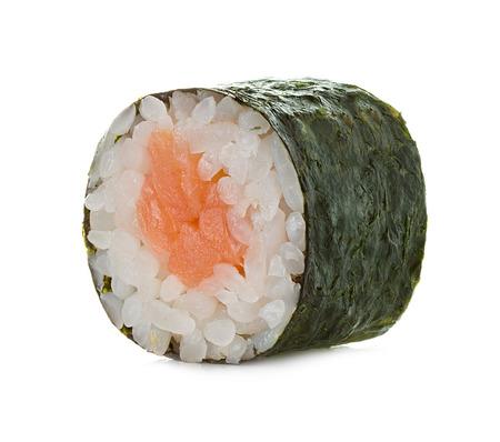 Sushi rolls isolated on a white background  photo