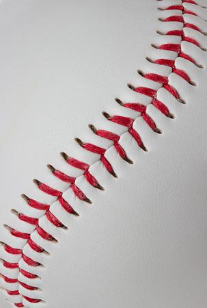 Baseball detail close-up photo