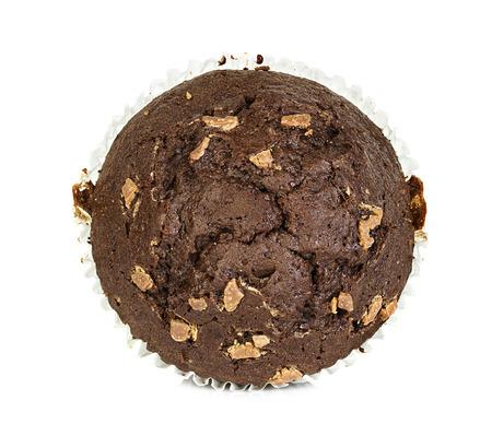muffin op een witte achtergrond