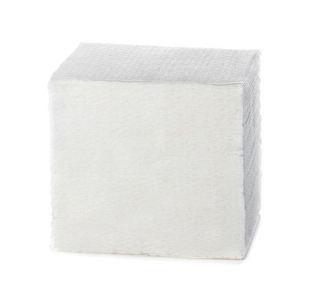 servilletas: Servilletas aislados sobre fondo blanco