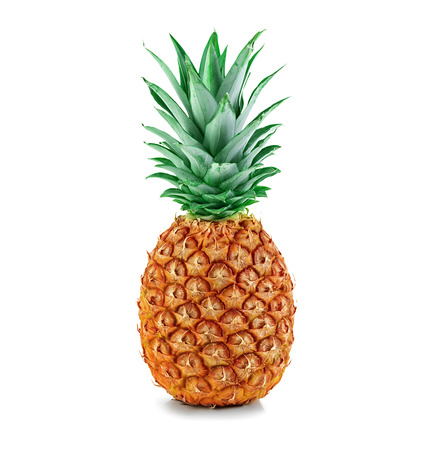 single  object: pineapple isolated