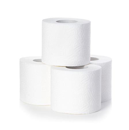 Toilet paper isolated photo