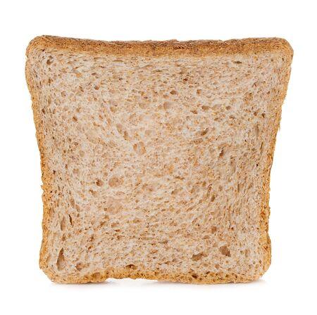 Sliced Toast bread isolated on white