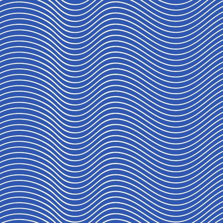Seamless pattern with waves, abstract background Illustration