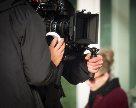 Un Cameraman Tir A Movie