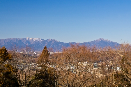 consecutive: The Consecutive mountains in Kanagawa,Japan
