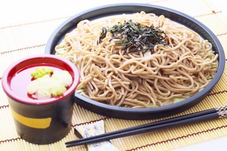 soba: Japanese buckwheat noodles