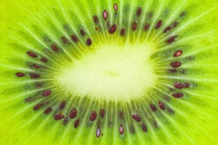 kiwifruit: Close up view of kiwifruit