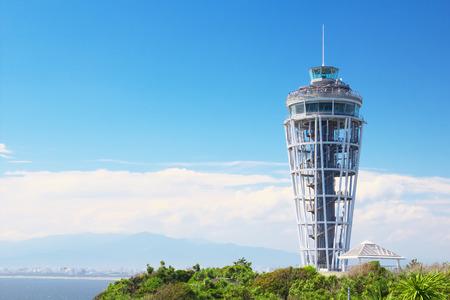 enoshima: An image of Enoshima Lighthouse Observatory in Kanagawa, Japan