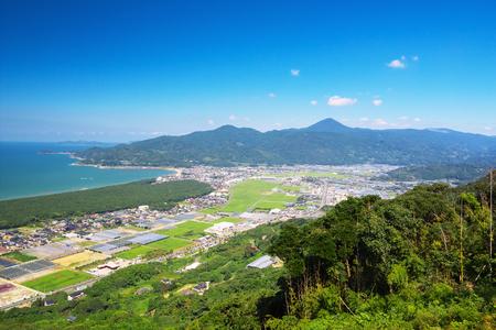saga: The view of Nijinomatsubara, Karatsu, Japan Stock Photo
