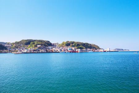 saga: View of Chinzei, the town located in Karatsu, Saga, Japan