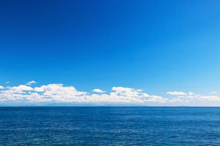 quasi: View of the sea located in Bungo Channel Stock Photo