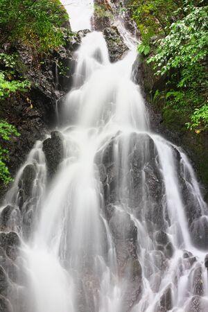 Cho-on Falls in Ukiha, Fukuoka, Japan