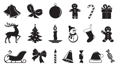 simbolo: Natale simbolo 02 sullo sfondo bianco