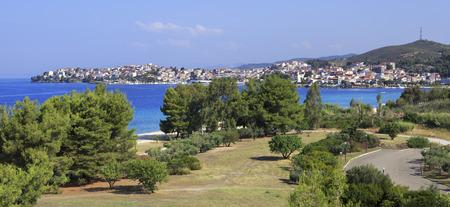 sithonia: Neos Marmaras (vista dall'hotel Porto Carras Sithonia).
