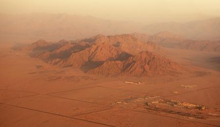sinai peninsula: Sinai peninsula in Egypt. Type of aircraft.
