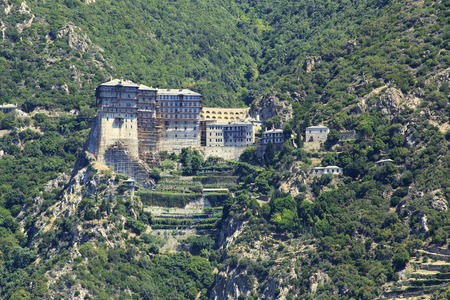Simonopetra Monastery in the Holy Mount Athos.