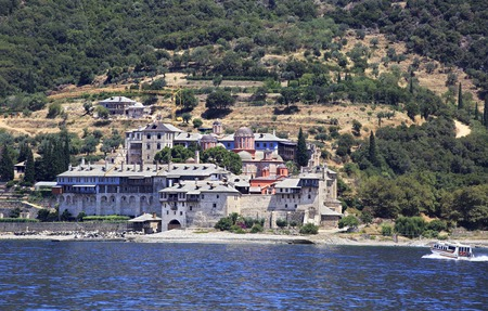 Xenophontos monastery in the Holy Mount Athos.