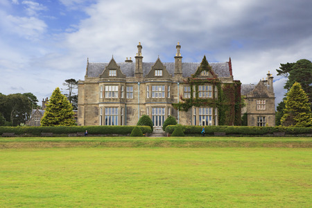 Muckross House in Killarney National Park. Ring of Kerry in Ireland.