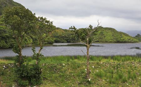 connemara: Beautiful National park Connemara. County Galway in Ireland. Stock Photo
