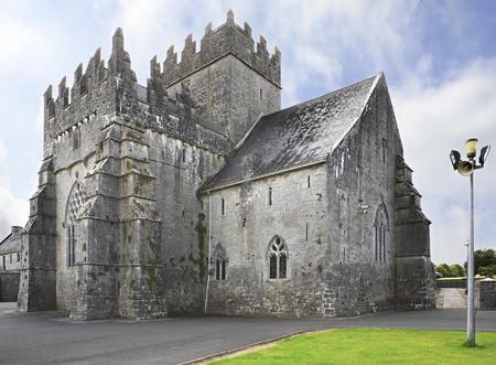 county tipperary: Holycross Abbey. County Tipperary in the Ireland.