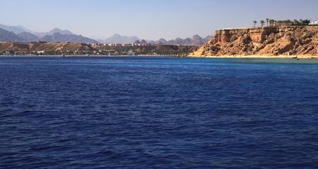 Seascape. Red Sea. Egypt. 版權商用圖片