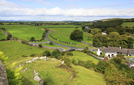 county tipperary: City of Cashel in Ireland. County Tipperary