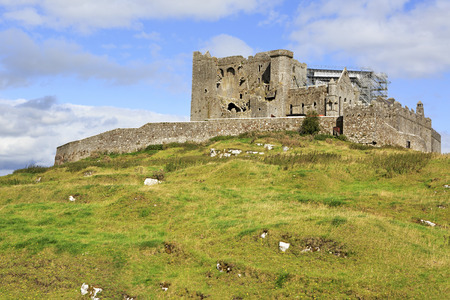 county tipperary: Rock of Cashel County Tipperary in Ireland. Stock Photo