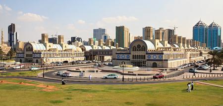 souq: Sharjah Gold Souq. UAE.