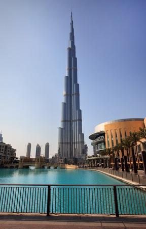 Burj Khalifa. Tallest building in the world.