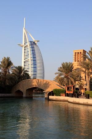 Burj Al Arab. Dubai in the UAE. Standard-Bild