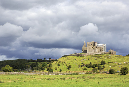 county tipperary: Rock of Cashel. County Tipperary in Ireland.