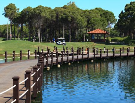 Area of Sueno Golf Club. Belek. Turkey. 写真素材