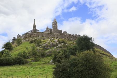 Rock of Cashel. County Tipperary in Ierland. Stockfoto - 35705909
