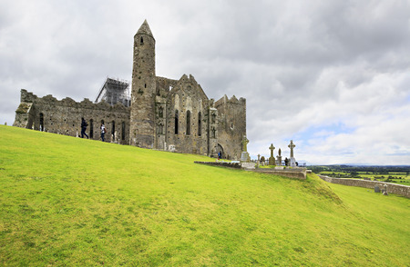 Cashel, Ireland - August 22, 2014: Rock of Cashel. County Tipperary in Ireland.