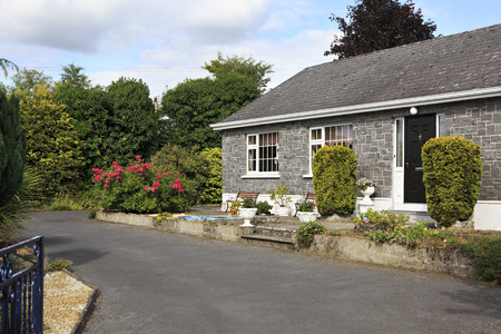 county tipperary: Tipperary, Ireland - August 23, 2014: House in the County Tipperary in Ireland. Editorial
