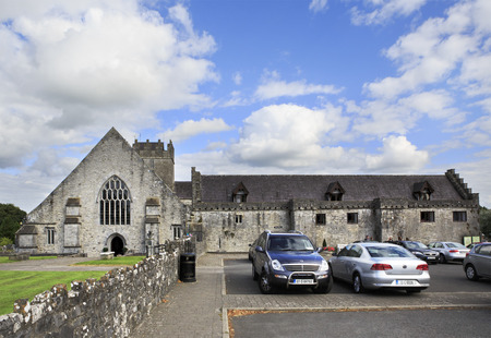 county tipperary: Tipperary, Ireland - August 23, 2014: Holycross Abbey. County Tipperary in the Ireland.