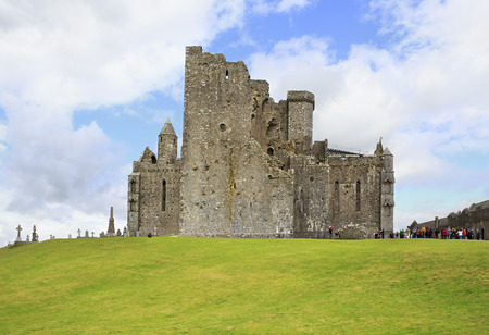 county tipperary: Cashel, Ireland - August 22, 2014: Rock of Cashel in County Tipperary in Ireland.