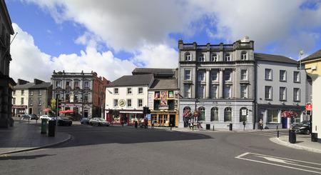 leinster: Kilkenny, Ireland - August 23, 2014: City Kilkenny in province Leinster in Ireland