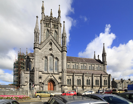 Kilkenny, Ireland - August 23, 2014: St. Marys Cathedral in Kilkenny in Ireland