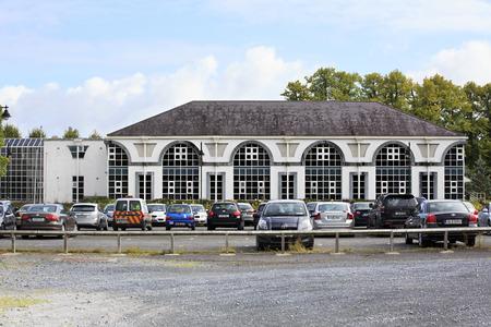 leinster: Kilkenny, Ireland - August 22, 2014: City Kilkenny in province Leinster in Ireland