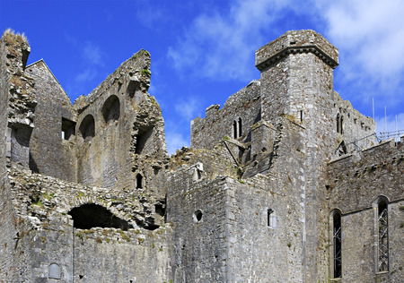 county tipperary: Cashel, Ireland - August 22, 2014: Rock of Cashel. County Tipperary in Ireland.