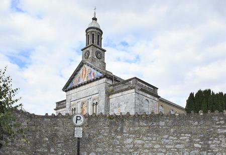 county tipperary: Cashel, Ireland - August 23, 2014: Church in the town of Cashel in Ireland. County Tipperary