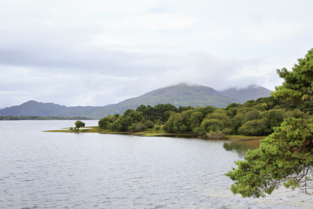 munster: Lough Leane Lower Lake. View from Lake Hotel Killarney