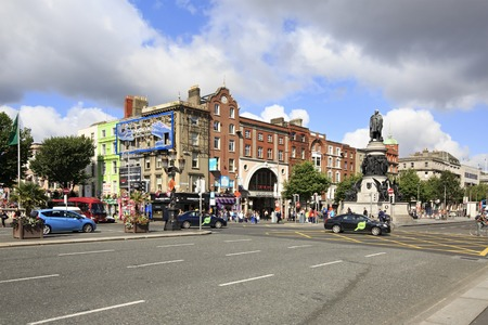 john henry: Dublin, Ireland - August 19, 2014: memorial to Daniel O Connell by sculptor John Henry Foley