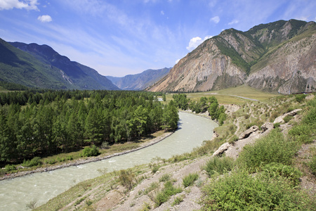 katun: Beautiful views of the river Chuya and Chuysky Trakt