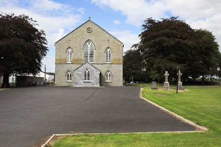 county tipperary: Tipperary, Ireland - August 23, 2014: Holycross community centre in County Tipperary.